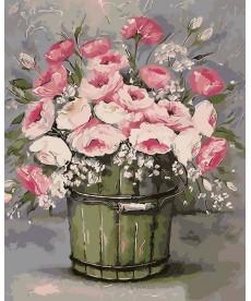 Картина по номерам Винтажный букет 40 х 50 см (AS0010)