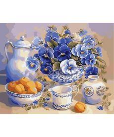 Картина по номерам Летний завтрак 40 х 50 см (AS0018)
