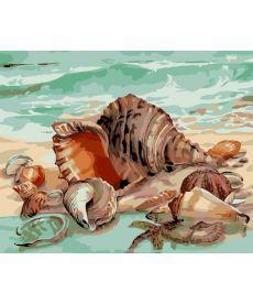 Картина по номерам Дары моря 40 х 50 см (AS0022)