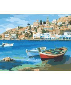 Картина по номерам Средиземноморское лето 40 х 50 см (AS0024)