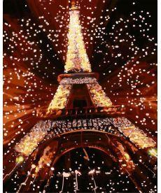 Картина по номерам Ночь в Париже 40 х 50 см (AS0036)