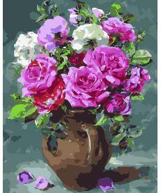 Картина по номерам Восхитительные розы 40 х 50 см (AS0038)