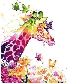 Картина по номерам Сказочный жираф 40 х 50 см (AS0053)