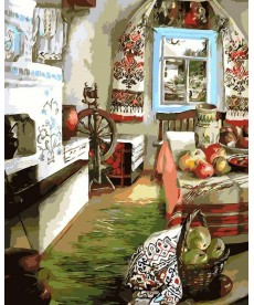 Картина по номерам Украинский уют 40 х 50 см (AS0107)
