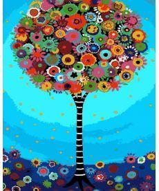 Картина по номерам Дерево фантазии 40 х 50 см (AS0110)