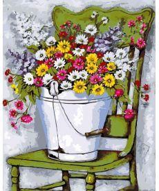 Картина по номерам Полевые цветы 40 х 50 см (AS0122)