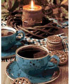 Картина по номерам Вечерний чай 40 х 50 см (AS0130)