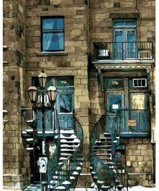 Картина по номерам Старинный дом 40 х 50 см (AS0143)