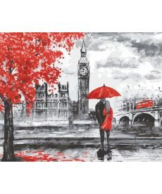 Картина по номерам Прогулка по Лондону 40 х 50 см (AS0145)
