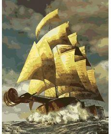 Картина по номерам На волнах музыки 40 х 50 см (AS0153)