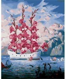 Картина по номерам Цветочные паруса 40 х 50 см (AS0154)