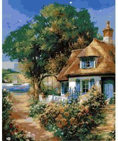 Картина по номерам Милый дом 40 х 50 см (AS0158)