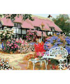 Картина по номерам Загородный дом 40 х 50 см (AS0160)