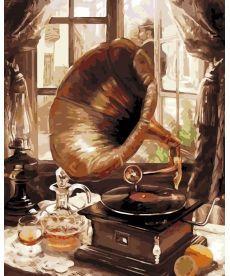 Картина по номерам Старый граммофон 40 х 50 см (AS0202)