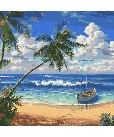 Картина по номерам Утро в раю 40 х 40 см (AS0328)