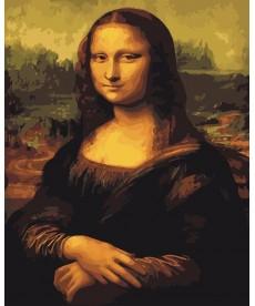 Картина по номерам Мона Лиза 40 х 50 см (BK-G241)
