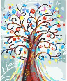 Картина по номерам Цветущее дерево 40 х 50 см (BK-GT61050)