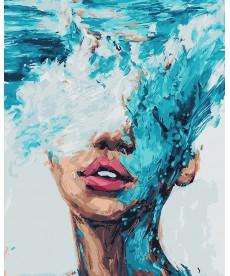 Картина по номерам Стихия воды 40 х 50 см (BK-GX21530)