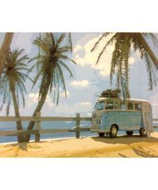 Картина по номерам Маями в стиле ретро 40 х 50 см (BK-GX21683)
