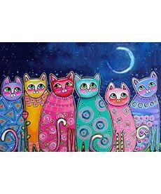 Картина по номерам Сказочные котики 40 х 50 см (BK-GX21706)