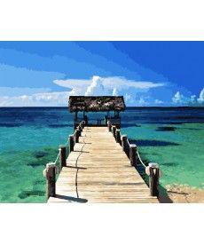 Картина по номерам Карибы 40 х 50 см (BK-GX21744)