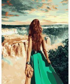 Картина по номерам Следуй за мной Бразилия 40 х 50 см (BK-GX21781)