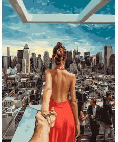 Картина по номерам Следуй за мной Манхеттен 2 40 х 50 см (BK-GX21784)