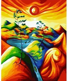 Картина по номерам Краски саванны 40 х 50 см (BK-GX22021)