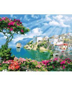 Картина по номерам Утро на побережье 40 х 50 см (BK-GX22330)