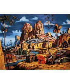 Картина по номерам Дорога в каньон 40 х 50 см (BK-GX22341)