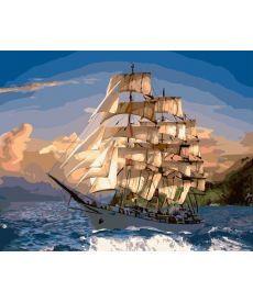 Картина по номерам Попутный ветер 40 х 50 см (BK-GX22391)