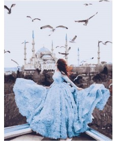 Картина по номерам Дыхание Стамбула 40 х 50 см (BK-GX23714)