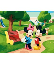Картина по номерам Микки Маус 40 х 50 см (BK-GX23777)