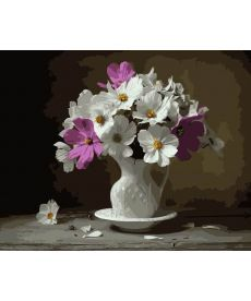 Картина по номерам Цветочная нежность 40 х 50 см (BK-GX3761)