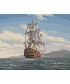 Картина по номерам Попутный ветер 40 х 50 см (BK-GX4710)