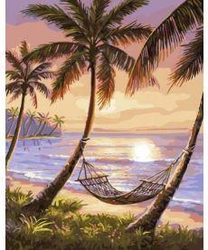 Картина по номерам Тропический рай 40 х 50 см (BK-GX4821)
