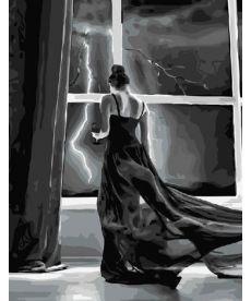 Картина по номерам Ночная гроза 40 х 50 см (BK-GX5004)