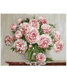 Картина по номерам Садовые пионы 40 х 50 см (BK-GX5581)