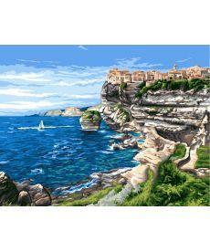Картина по номерам Вид на бухту 40 х 50 см (BK-GX6691)