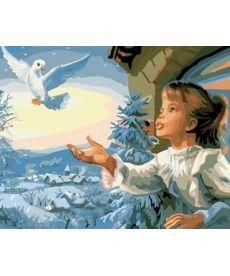 Картина по номерам Птица мира 40 х 50 см (BK-GX7056)