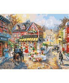 Картина по номерам Городская площадь 40 х 50 см (BK-GX7259)