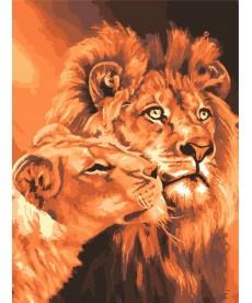 Картина по номерам Царственная пара 40 х 50 см (BK-GX7279)