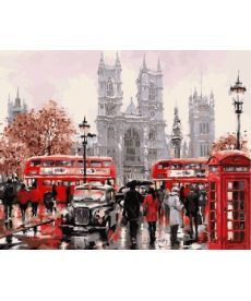 Картина по номерам Дождливый Лондон 40 х 50 см (BK-GX8088)