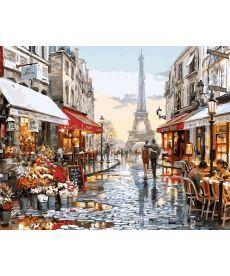 Картина по номерам Париж после дождя 40 х 50 см (BK-GX8090)