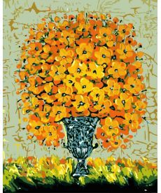 Картина по номерам Солнечный букет 40 х 50 см (BK-GX8095)