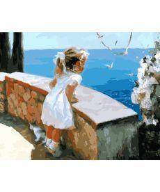 Картина по номерам Ласковое море 40 х 50 см (BK-GX8102)