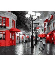 Картина по номерам Улица старого города 40 х 50 см (BK-GX8279)