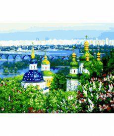 Картина по номерам Весеннее утро 40 х 50 см (BK-GX8293)