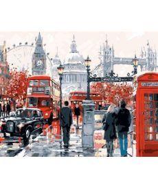 Картина по номерам Очарование Лондона 40 х 50 см (BK-GX8362)