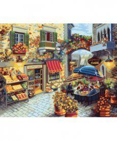 Картина по номерам Уютный дворик 40 х 50 см (BK-GX8519)